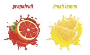 MEDO Grapefruit and Lemon Fragrances